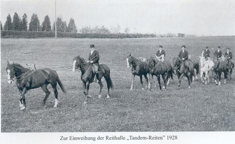 Tandemreiten Ostönnen 1928
