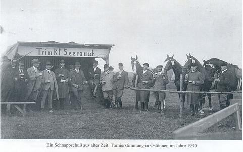 Turnierstimmung Ostönnen 1930